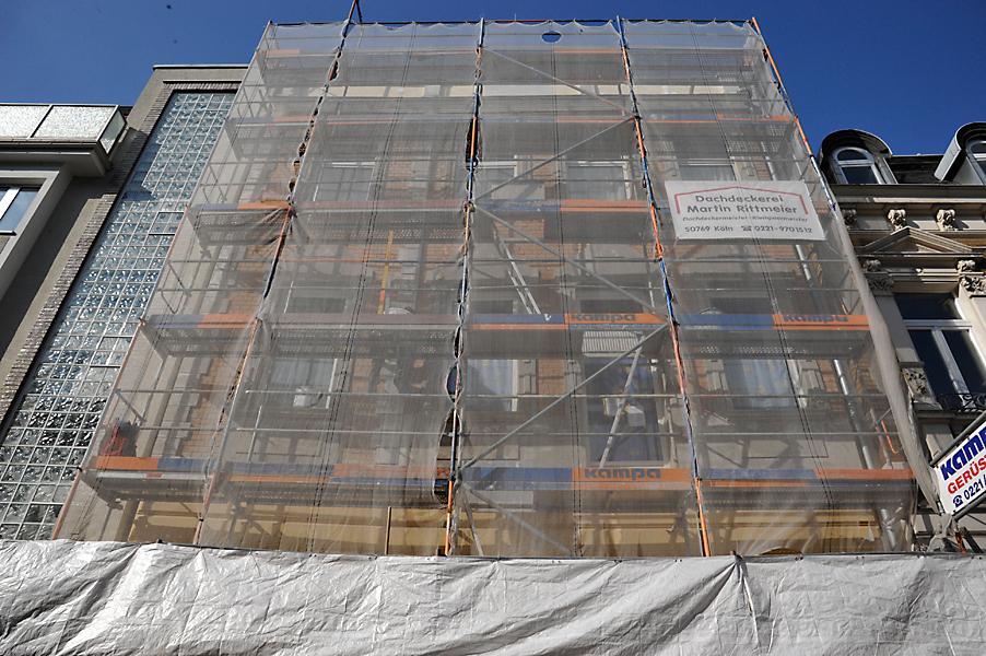 Rekonstruktion Stuckfassade