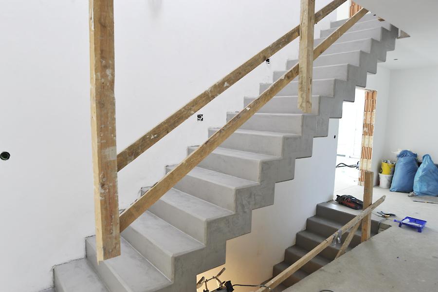 Treppe Beton Ciré