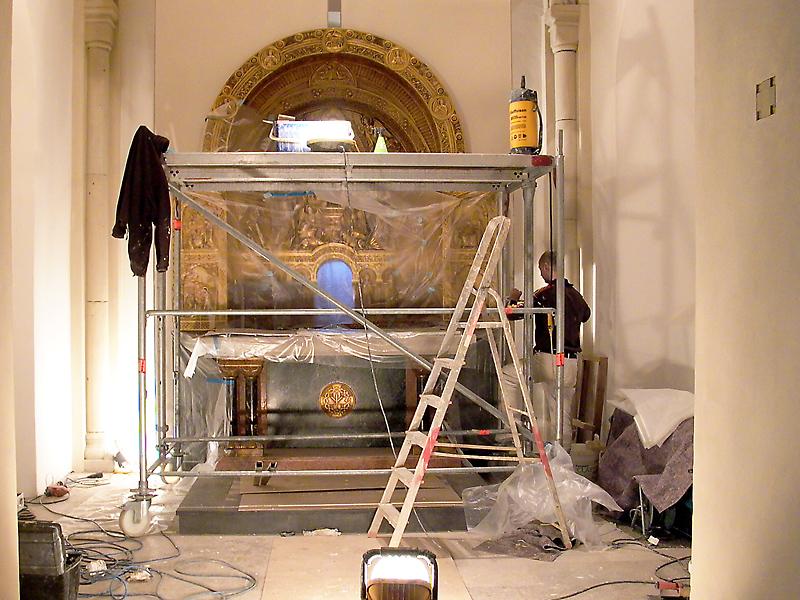 Restauration Kloster Gerleve